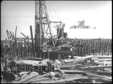DAMAGE CAUSED BY EXPLOSION OF AMMUNITION SHIPS, PORT CHICAGO, CALIF