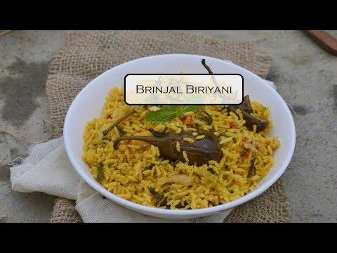 Brinjal Briyani – Made in Pressure Cooker | How to make Brinjal Briyani | Kathirikai Briyani