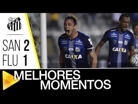 Santos 2 x 1 Fluminense | MELHORES MOMENTOS | Brasileirão (05/10/16)