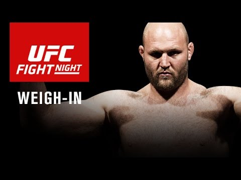 Fight Night Zagreb: Official Weigh-in