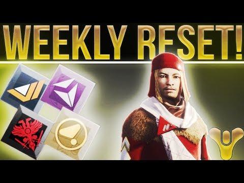 Destiny 2. FACTION RALLY WEEKLY RESET! Nightfall Challenge, Milestones, Vendor Stock & More!