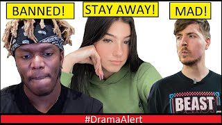 KSI BANNED! - Charli D'Amelio Father says NO to guys Dating her! - JOJO Siwa vs DaBaby! MrBeast MAD!