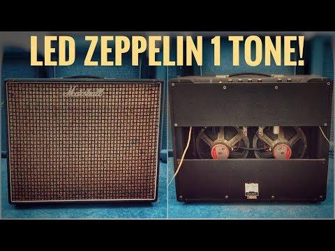 Marshall Popular Goodman Nails the Tone of Led Zeppelin 1
