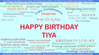 Tiya   Languages Idiomas - Happy Birthday