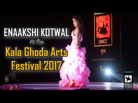 Kala Ghoda Arts Festival 2017 - Egyptian Belly Dance | Enaakshi Kotwal