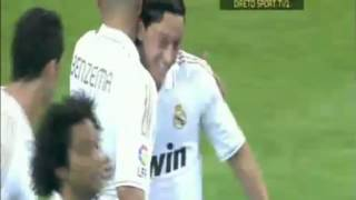 Mesut Ozil's Second Goal Real Madrid Vs Mallorca 4-1 HD (13/5/2012)