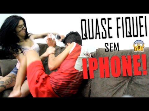 TROLLEI MINHA NAMORADA E QUASE FIQUEI SEM IPHONE :'(