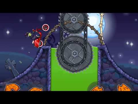 MOTO X3M Bike Racing iOS / Android Gameplay | Trick or Treat Levels and Bike