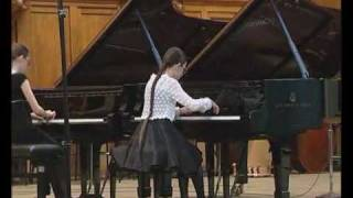 "P.I. Tchaikovsky ""Dance of the Sugar Plum Fairy"", Shostakovich ""Tarantella"""