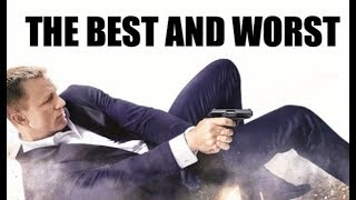 The best and worst of james bond (daniel craig)