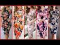 Gorgeous Fabulous And Elegant Stylish Floral Print Bodycon /Sheath Dresses //Women's Fashion Trend