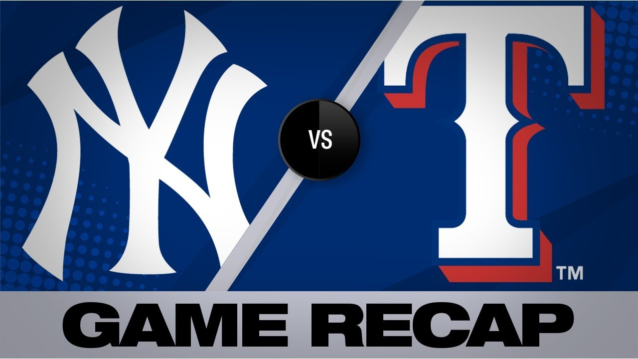 Download Yankees blast six homers in 14-7 win | Yankees-Rangers Game Highlights 9/27/19