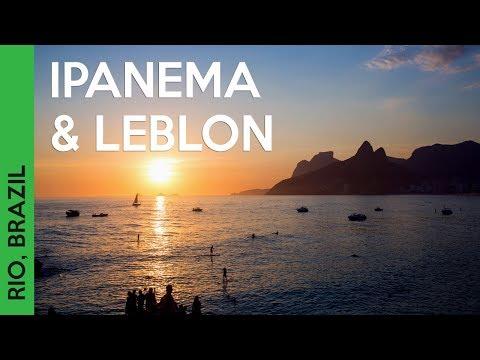 South America trip! Travel Vlog featuring Ipanema beach & Leblon in Rio de Janeiro, Brazil:
