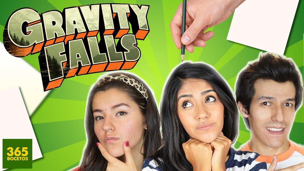 Como Dibujar A Los Polinesios Estilo Gravity Falls Los Polinesios