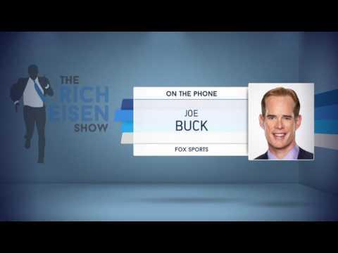 FOX Broadcaster Joe Buck Talks Chicago Cubs World Series Victory - 11/3/16