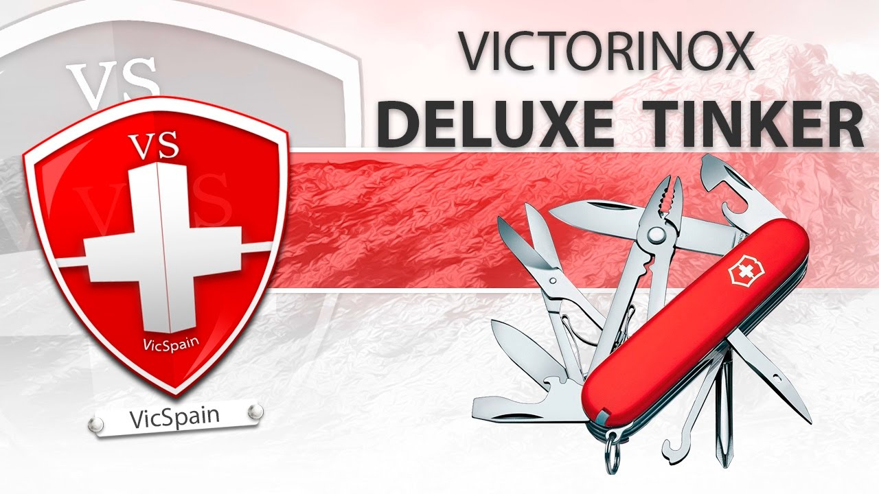 Victorinox Deluxe Tinker Review All Subtitles Youtube