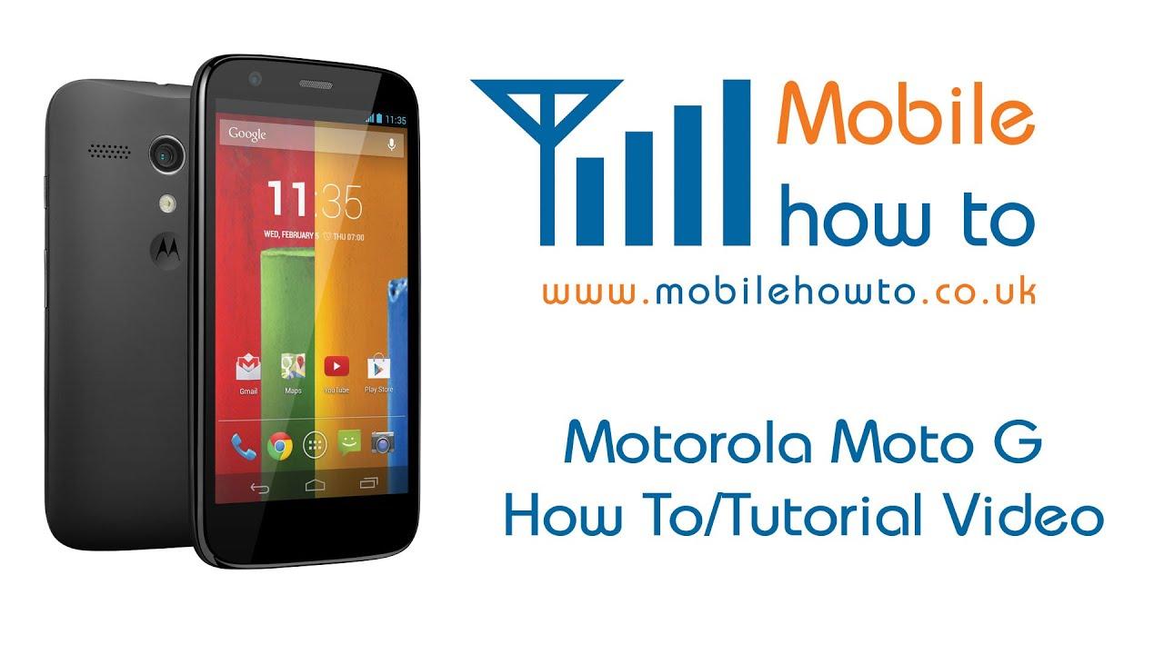 How To View Call Log - Motorola Moto G