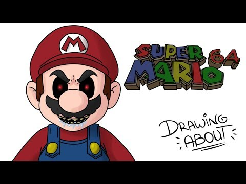 SUPER MARIO 64 | Draw My Life | Creepypasta
