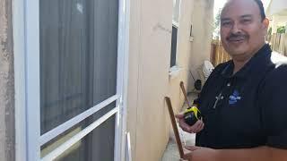 How to install a Scŗeen Door