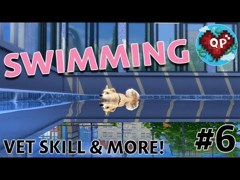 DOGS CAN SWIM!! - Sims 4 Cats and Dogs #6