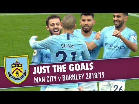 JUST THE GOALS | Man City v Burnley 2018/19