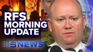 NSW Bushfires: Latest RFS fire update, warnings  | Nine News Australia