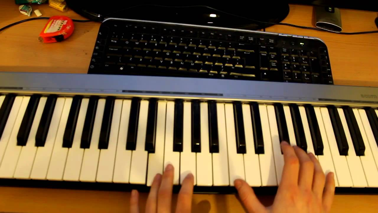 Tutorial How To Play Youth By Daughter On The Piano Chords Chordify