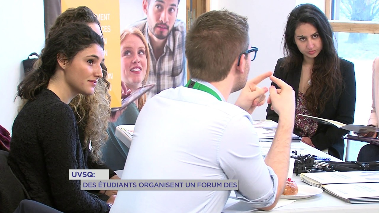 UVSQ : des étudiants organisent un forum des métiers