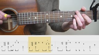 James Arthur - Say You Won't Let Go - Fingerstyle Guitar TABS Tutorial (Lesson) | Mattias Krantz