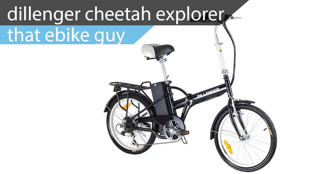 That Ebike Guy Dillenger Cheetah Explorer 20 Quot Folding
