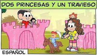 Dos princesas y un travieso | Mónica y sus amigos