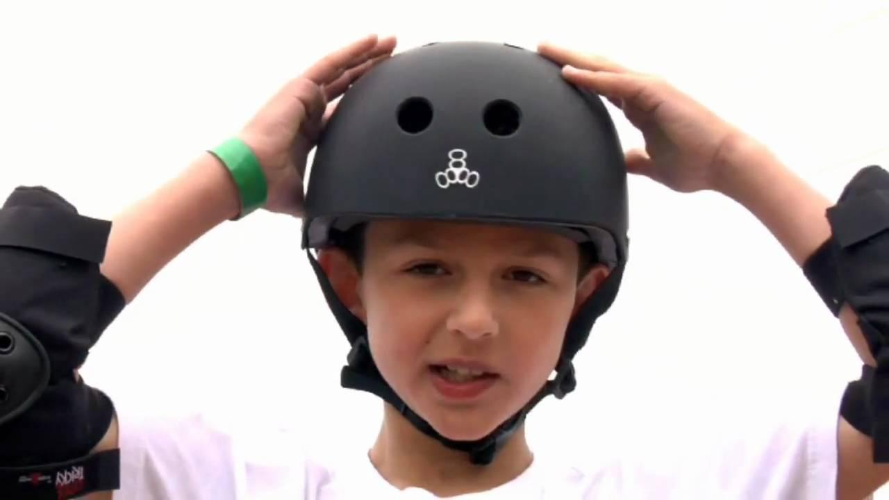 Kids Wearing Skateboard On Back