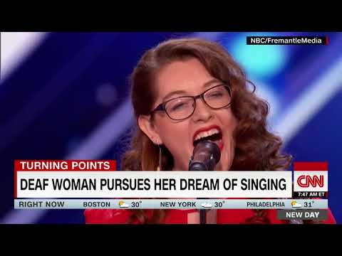America's got talent finalist sings without sound