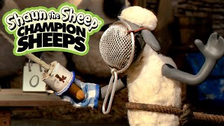 ChampionSheeps - Fencing Shaun the Sheep