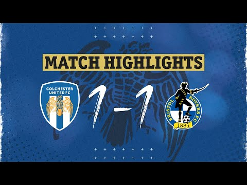 Colchester Bristol Rovers Goals And Highlights