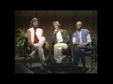 Bee Gees Interv  1983 Australia Satellite to Miami