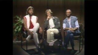 Bee Gees Interv  1983 Australia Satellite to Miami