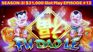 Fu Dao Le Slot Machine Live Play w/$8.80 Max Bet | Season 3 | EPISODE #12