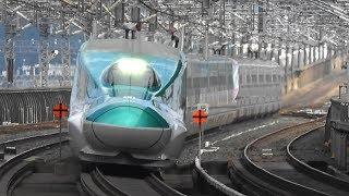 東北新幹線 迫力の高速通過映像集 那須塩原駅 Ver.1 High speed passing through of Shinkansen