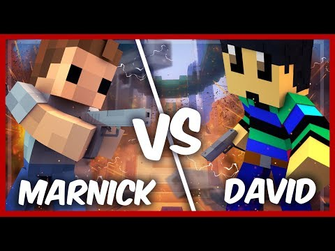 DAVID vs MARNICK | SCHIETWEDSTRIJD IN MINECRAFT!!