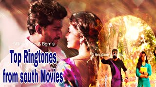 Top Ringtones from south Movies || BGM