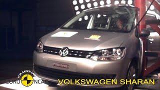 Volkswagen Sharan Crash Test Euro NCAP | 2010 Ratings
