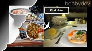 Different Classes Of Flight .. ( first , business and economy ) please watch till end ...