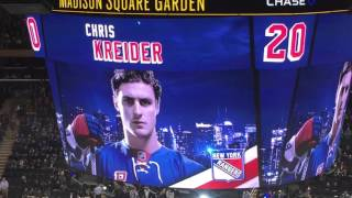 New York Rangers 2015-2016 Intro (vs. Toronto Maple Leafs [With Goal Sequence and Win Celebration]