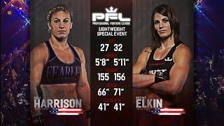 Kayla Harrison vs Brittney Elkin Full Fight | PFL 2 2018