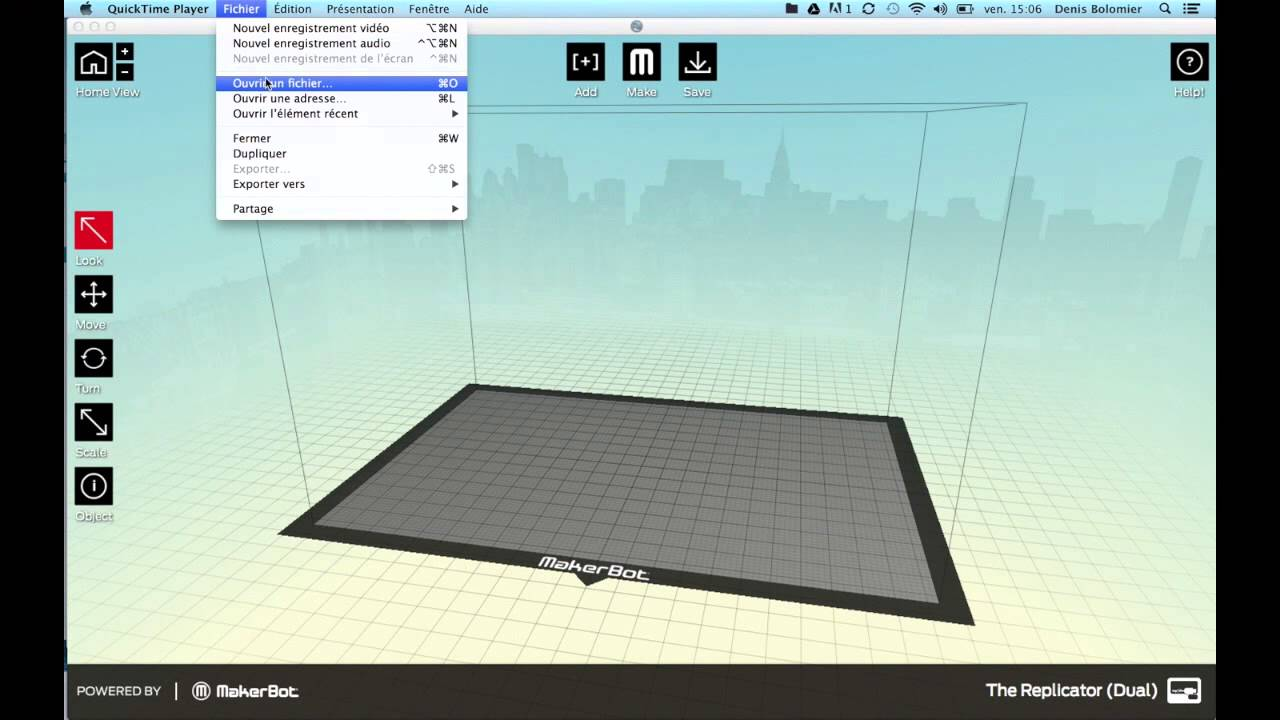 Tuto SketchUp - Processus dimpression 3D avec une MakerBot - YouTube