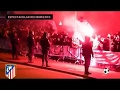 Incredible support of Atletico Madrid fans to players before playing vs Barcelona 2017 - New 1018