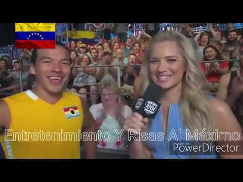 """El Venezolano Karl Fow Se Convirtió En El Primer Latino En Completar """"Guerrero Ninja Americano"""""""