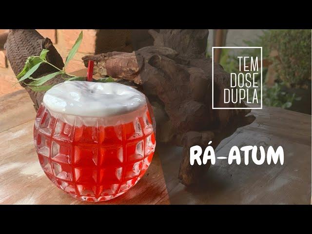 DRINK COM SAQUÊ - Rá-Atum