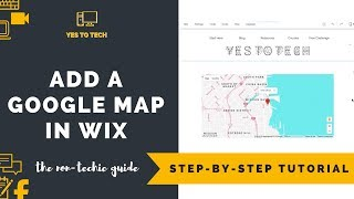 WIX MAP APP: HOW TO ADD INTERACTIVE MAP WIX - Adding Wix Google Maps